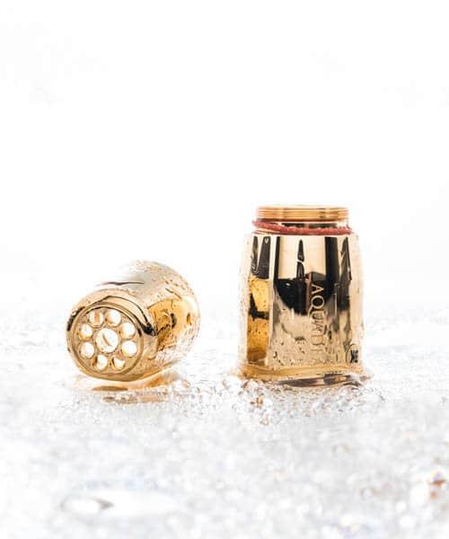 Aquadea_ToneOne_Gold_Trinkwasserwirbler_mit_Bergkristall