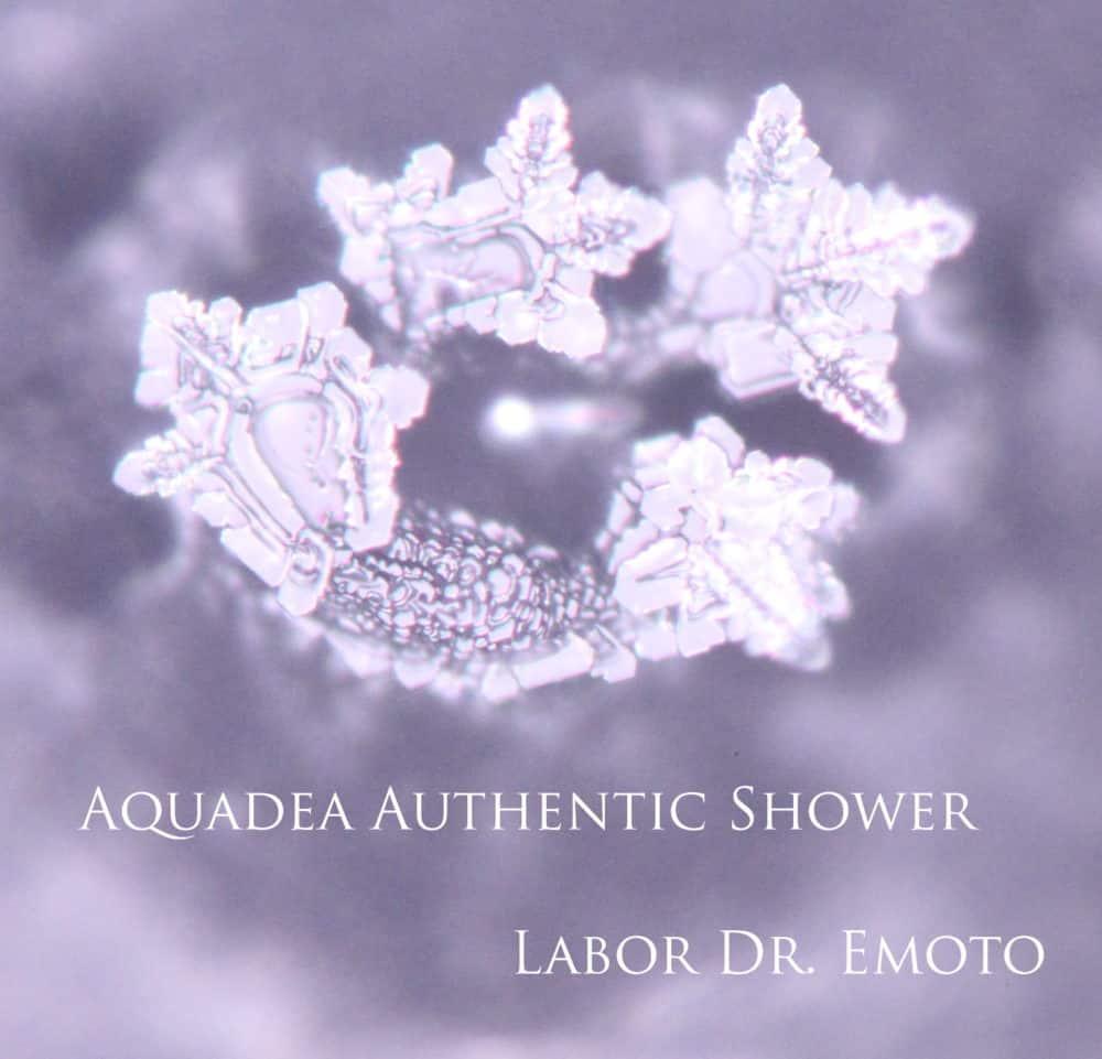 Wirbelbewegung im Eiskristall